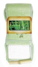 Retail - Les Importations De Détail Bambou Luffa Full Body Scrubr Taille : 3