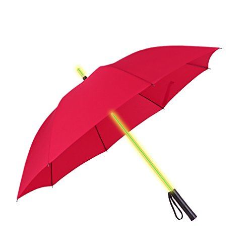 JTTVO - Paraguas ligero espada láser resistente viento