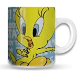 Pop-Art-Products Looney Tunes Tweety - Taza con diseño de Piolín