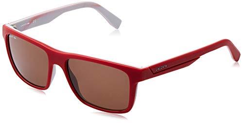 Lacoste Herren L876S Sonnenbrille, Rot,