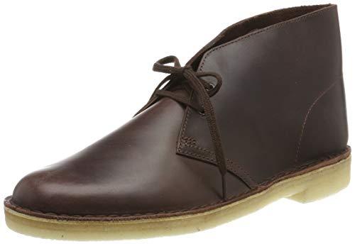 Clarks Originals Herren Desert Boot Klassische Stiefel, Braun Chestnut Leather, 40 EU Schöne Boote