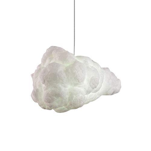 OSALADI Lumière créative de décoration de lampe pendante du nuage LED pour la résidence de luxe supérieure d'hôtel à la maison