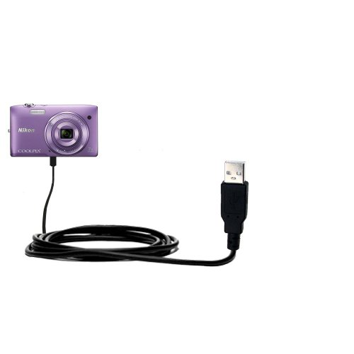 nikon-coolpix-s3500-compatible-hot-sync-and-charge-straight-usb-cable-charge-and-data-sync-with-the-