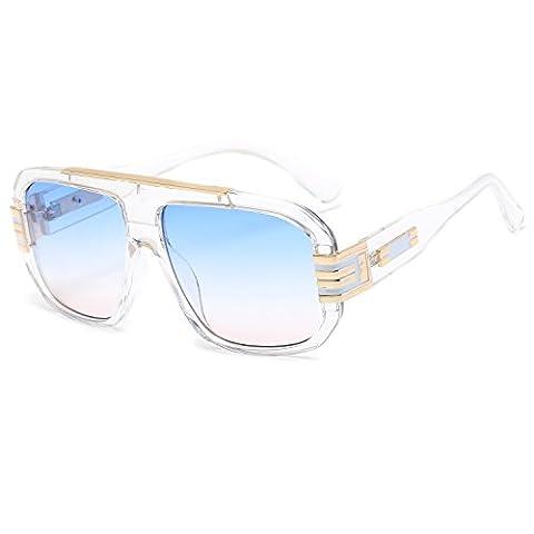 CVOO Brand Designer Sunglasses Men Women Retro Vintage Sun Glasses Big Frame Fashion Glasses Top Quality (Hip Hop Mode Sonnenbrillen)