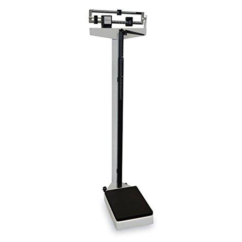 Capacidad 200Kg. Precisión 100g. Tamaño del plato 53x27cm. Báscula mecánica con columna, pesa personas. Incluye tallímetro con rango de medición de 75 a 200 cm. Capacidad de carga máxima: 200 kg. Las pesas, con un desplazamiento suave, estan situadas...