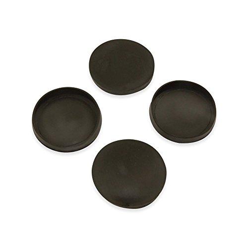 Magnet Experten rub40–20Gap für 40mm Durchmesser Magnete, Schwarz (20Stück)