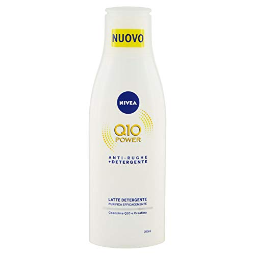 Nivea 81960 Visage Q10 Reinigungsmilch, 200 ml