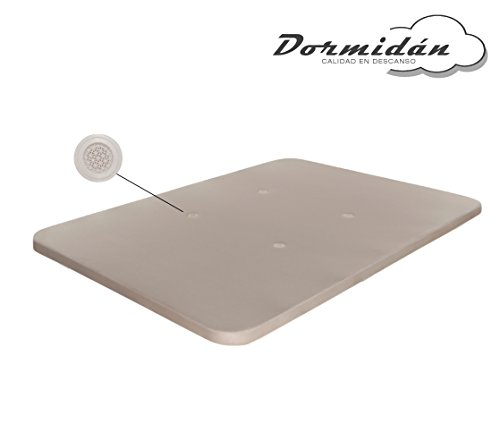 Dormidán - Base tapizada con tejido 3D y válvulas de aireación, refuerzo central