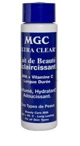 MGC Ultra Clear Beauty Care MILK with AHA et Vitamine