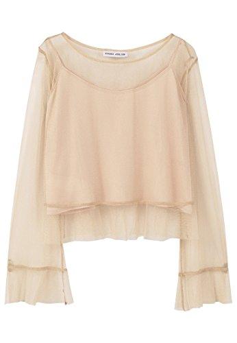 mango-frills-tulle-t-shirts-long-sleeve-blouse-sizes-colorgold