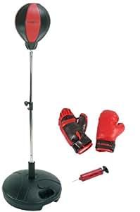 Hudora, Punching Ball con guantoni da Boxe e Pompa