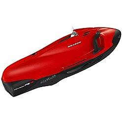 BABI Scooter sous-Marin, propulseur sous-Marin, Scooter Marin pour la plongée en Eau Peu Profonde, L'Aventure en apnée ou la Chasse au Poisson