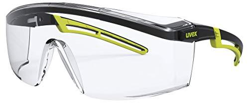 Uvex Astrospec 2.0 Schutzbrille - Supravision Excellence - Transp./Schwarz-Lime