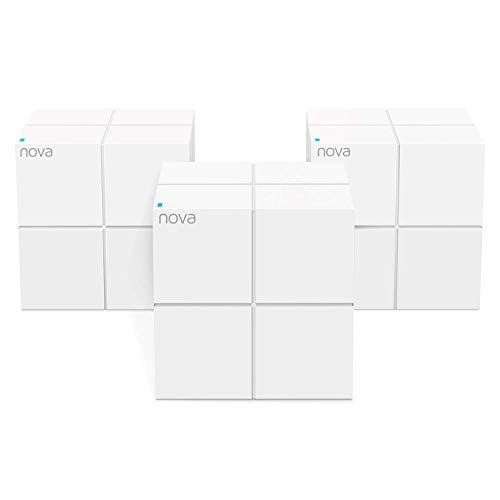 Tenda Nova MW6 Whole Home Mesh Router, Pacco da 3, Bianco