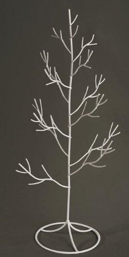 chaks-76024-centre-de-table-arbre-metal-50cm-blanc