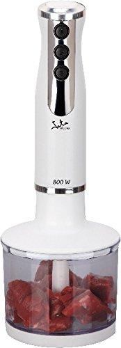 jata BT190 batidora, 800 W, 0.6 litros, 0 Decibeles, Plástico, 4 Velocidades, Blanco