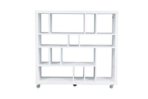 Forzza Brant Bookshelf (White)