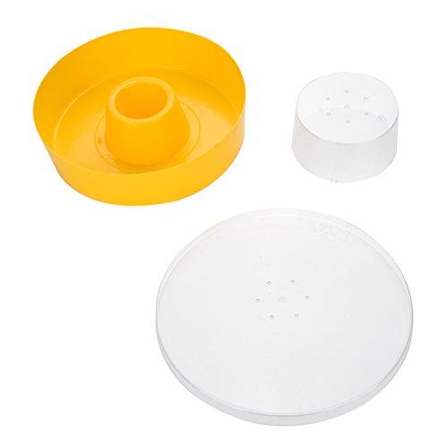 idalinya Bienenfutter-Wassertrinknapf-Plastikbienenwasser-Zufuhr-Bienenstock-trinkende Biene, die Ausrüstung-Imkerei-Werkzeug hält