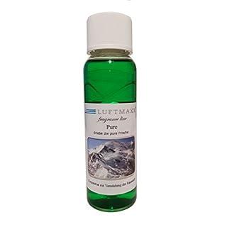 LUFTMAXX Pure Duftstoff für Wasserstaubsauger Lufterfischer Water - Bowl Kugel 100ml