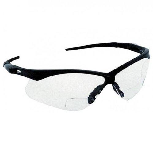 Jackson Safety V60 Nemesis RX Schutzbrille mit Sehstärke für Brillenträger 2 in 1 mit Dioptrienbereich und Seitenschutz, Sicherheitsbrille, Arbeitsschutzbrille, Typ:Dioptrien 2.5