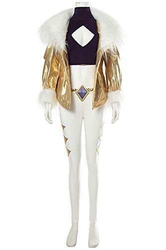 MingoTor Akali Prestige Edition Kleid Cosplay Kostüm Damen - Akali Cosplay Kostüm