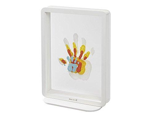 Baby Art Family Touch Bilderrahmen mit Familien Handabdruck als Geschenk und/oder Andenken, weiß