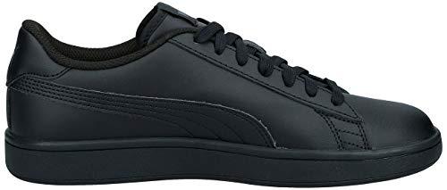 Puma Smash V2 L, Zapatillas Unisex Adulto, Negro (Puma Black-Puma Black 6), 40 EU