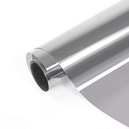 FANCY-FIX selbstklebende statische Sonnenschutzfolie für Fenster| selbsthaftende Fensterfolie | UV-Schutz & Sichtschutz - 75 x 300 cm