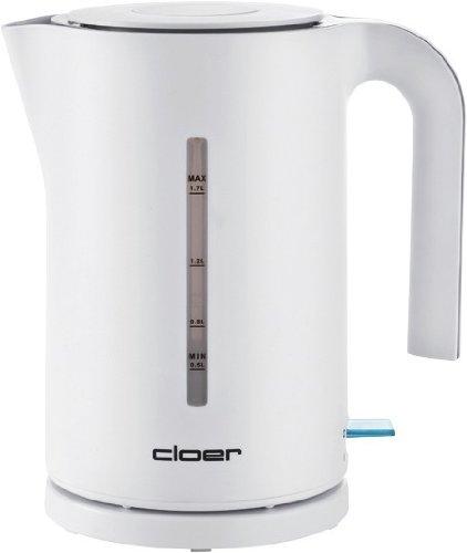 Cloer Wasserkocher 4111, weiß, 1,7 Liter