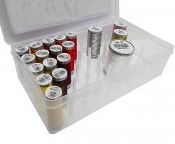 Nähfaden-Box für 42 Spulen