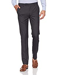 Arrow Men's Pleat-Front Formal Trousers