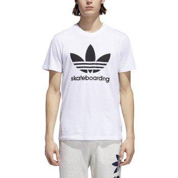 adidas Skateboarding Men's Clima 3.0 Tee White/Black Small