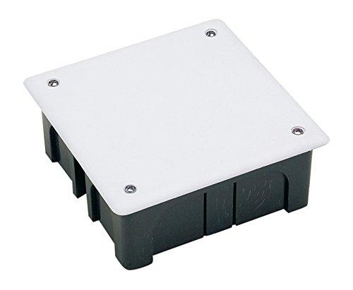 CAJA ELEC 100x100x45 EMP FAMAT ABS/POL NE CON TORNILLOS 3201