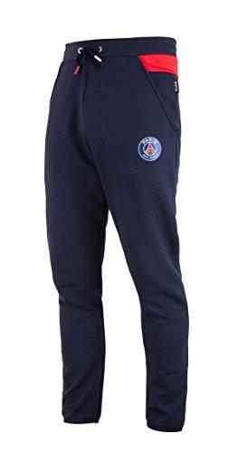 PARIS SAINT GERMAIN Moltonhose, PSG, offizielle Kollektion, Größe Herren M blau