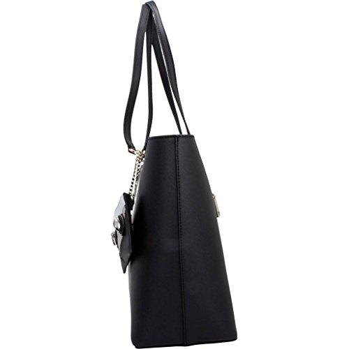 Sacs - Maroquinerie, couleur Noir , marque GUESS, modÚle Sacs - Maroquinerie GUESS HWPF63 Noir Noir