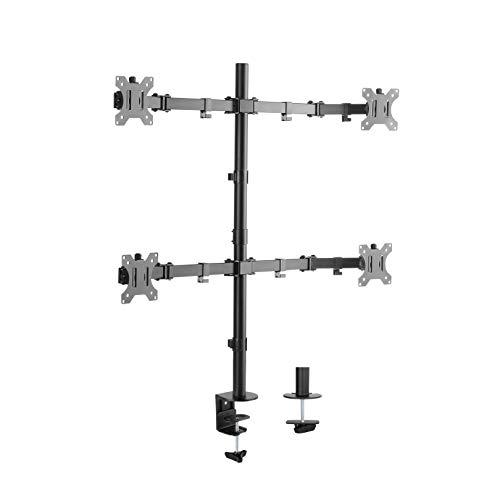 Lavolta Multi Monitorhalterung für LCD/LED TV Bildschirm mit voll einstellbaren Armen - Vierfach - Multi Arm