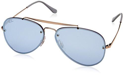 Rayban Unisex-Erwachsene Sonnenbrille Rb3584n 90531u 58mm, Copper/Darkvioletmirrorsilver, 58