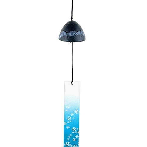 Preisvergleich Produktbild Fenteer Vintage Chinesische Windspiel Windglockenspiel Glocken Feng Shui Dekoration - Grün