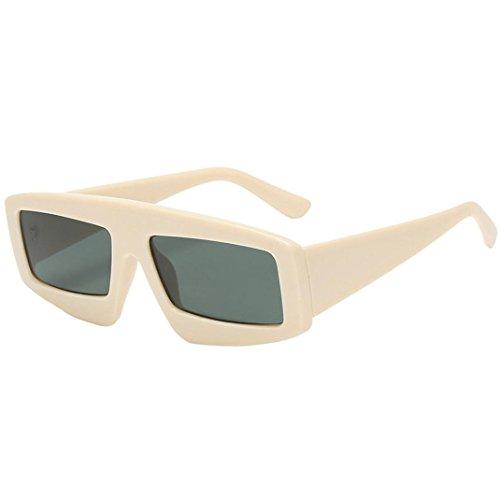 Dragon868,Frauen Mode Funny Unisex Sonnenbrille integrierte UV-Brille,Gewöhnliche Gläser Brillen (G)
