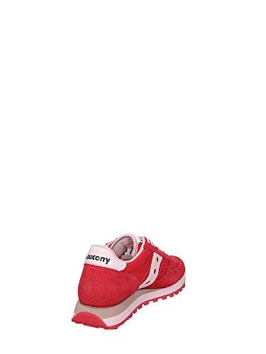 Saucony JAZZ Sneakers Bassa Donna Rosso/Bianco
