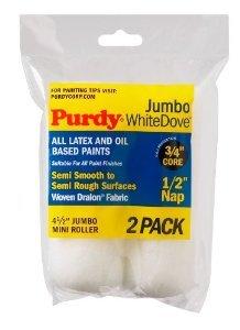 Jumbo weiß Taube Mini Farbroller Cover