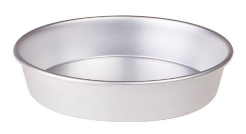 Pentole Agnelli FAMA43/622 Tortiera Conica In Alluminio Con Orlo (H Cm 6), Diametro 22 cm