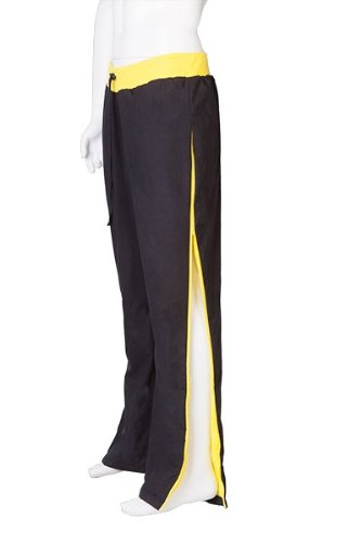 JQ Watersport trousers black and yellow (Large Adult Trousers 33