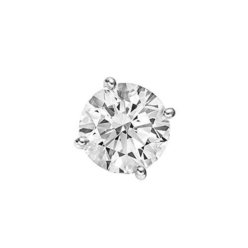 Pendientes para hombres con diamantes y oro de 14 quilates