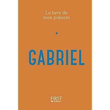 26 Le Livre de mon prénom - Gabriel