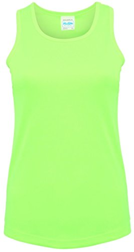AWDis Cool - Canotta -  donna Electric Green