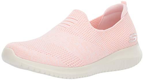 Skechers Damen Ultra Flex-Harmonious Slip On Sneaker, Light Pink Ltpk, 39 EU Skechers Slip-on Sneaker
