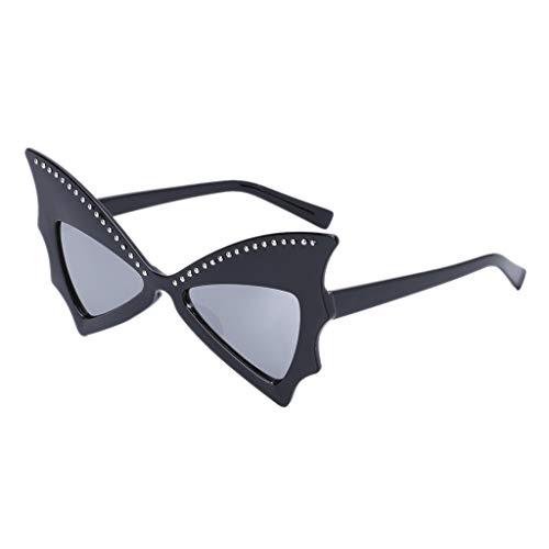 Yanhonin Nouveau Lunettes De Soleil Carrées Papillon Cadre Cool UV400  Marque Designer Eyewear 633e7506788b