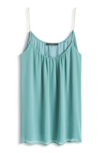 ESPRIT Collection Damen Bluse Grün (LIGHT GREEN 2 331)