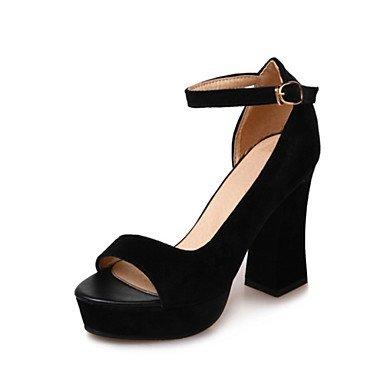 Donna Sandali Primavera Estate scarpe Club Comfort Novità fiore ragazza scarpe Glitter vello MaterialsWedding personalizzati Abbigliamento outdoor Black